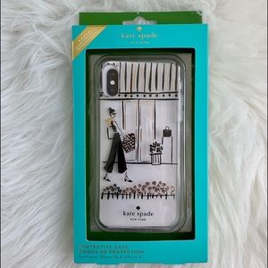 NWT Kate Spade Protective Case for Xs & iPhone X